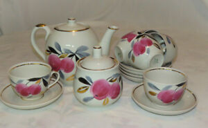 VINTAGE SOVIET RUSSIAN PORCELAIN TEA SET