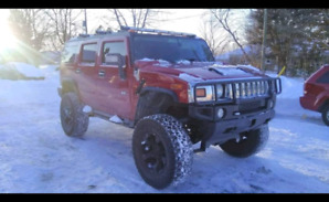 "9"" Lifted 2006 Hummer H2 Limited!! 40"" tires!! 20"" Rockstar II!!"