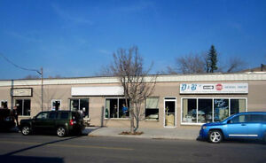 Various Commercial/Retail Spaces Available