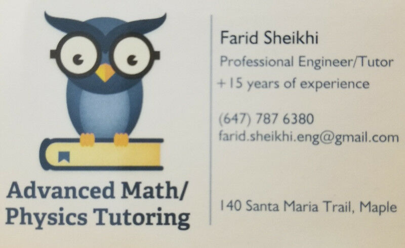 Advanced Tutoring: Mathematics | Physics | Engineering+MATLAB