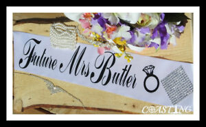 Wedding Shower Bride to Be Sash Personalized
