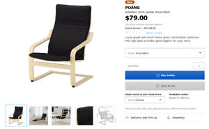 Ikea POÄNG Armchair for sale! OBO, Pickup Only