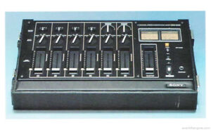 Sony MX-650 6-channel microphone mixer