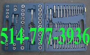 Tarauds et Filières Mastercraft Ensemble 76 pcs Tap and Die Set