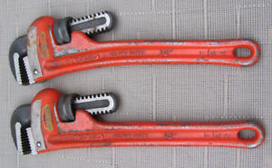 "RIDGID 10"" Pipe Wrenches"