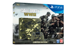 World War 2 PS4 with black ops 3 and extra controller