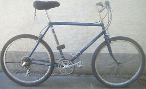 Raleigh- tall frame with 26 inch tires