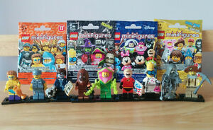 Lego Minifigures: Disney Minifigures, Series 12, 14, & 15