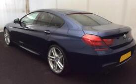 2015 BLUE BMW 640D GRAN COUPE 3.0 M SPORT DIESEL AUTO 4DR CAR FINANCE FR 88 PW