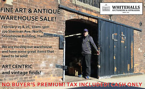 Fine Art and Antique Warehouse Sale