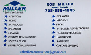 Miller Construction - Bathrooms Peterborough Peterborough Area image 5