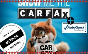 CARFAX + AUTOCHECK VIN REPORTS ONLY $10