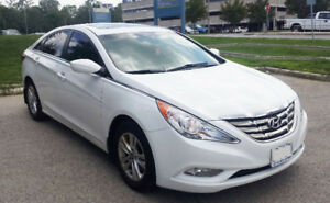 White Hyundai Sonata GLS 2011, Sunroof, Certified and E-tested