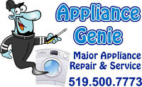 Appliance Genie Repair is Cheaper than another Used replacement
