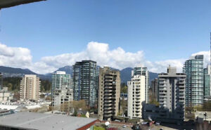 DOWNTOWN VANCOUVER - FULLY FURNISHED - 1 BEDROOM/1BATH with VIEW