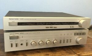 Vintage H/K Integrated Amp & am/fm Tuner with PHONO input.