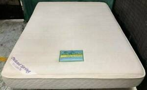 Excellent pocket spring queen mattress for sale. Pick up or deliver