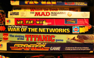 WANTED: Board Games from the 80's or Earlier