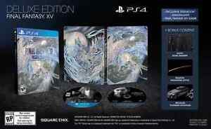 LOOKING FOR: FFXV DELUXE EDITION PS4