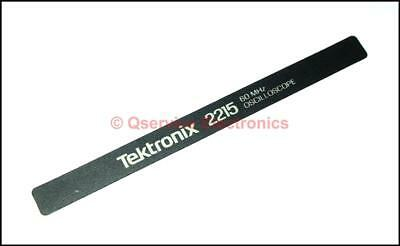 Tektronix Handle Model Sticker For Tektronix 2215 Series Oscilloscopes