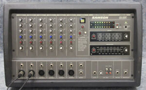 Samson XM 410 Powered Mixer