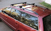 VW Passat Wagon Roof Rack with Ski Attachment