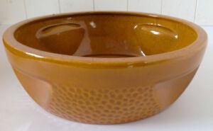 Antiquité 1960 Plat à gâteaux aux fruits VACHON-Ceramique Beauce