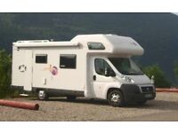 Move C707, 6/7 Berth Motorhome for sale with 6 seatbelts