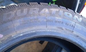 "4 x DURATION WINTERQUEST 195/65/R15"" Studdable Snow Tires Peterborough Peterborough Area image 7"