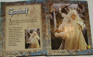 Lord of the Rings 6 Puzzles BOARD Book London Ontario image 3