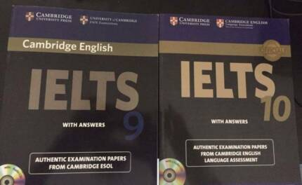 sell 100% new IELTS books 9 and 10 with CD
