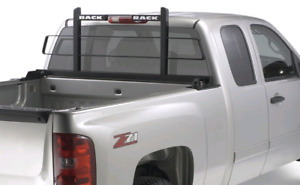 Back rack and back rack rails with hardware