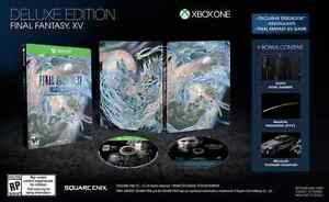 New Final Fantasy 15 Deluxe Edition Sealed