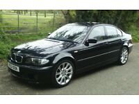 BMW M SPORT e46 breaking 318 1995cc 2.0 petrol sapphire black all parts available