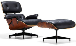 "AUBAINE - ""Charles Eames - Lounge Chair and Ottoman"" - OCCASION"