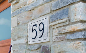 Custom House Numbers