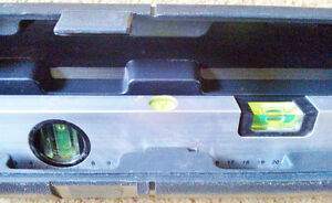 Never-Used 'Johnson' Laser Level & Tool in Black Plastic Case Kingston Kingston Area image 2