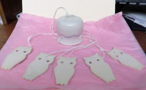Chimes - 3 Designs: Owls; Frogs & Daisies; and Church   $6 each