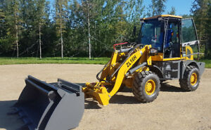 Brand New HZM Wheel Loaders With Two Buckets And Forks