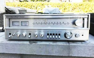 Amplificateur receiver Fisher RS1040 et Table Tournante L&G