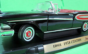 1:18 SCALE 1958 EDSEL CITATION (DELUXE EDITION)