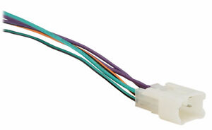 Car Stereo Wire Harness for Toyota 1987-Up BB-WHTY2
