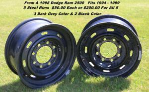 Dodge Ram  2500 16 inch  Steel rims
