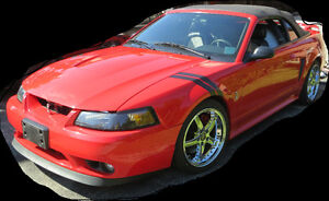 2001 Ford Mustang Red Cobra Convertible - Excellent Condition