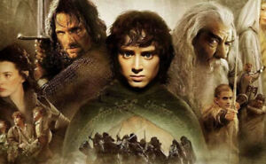 Lord Of The Rings trilogy on DVD - all 3 films for $5