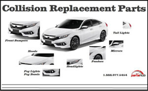CAR REPLACEMENT CITY - BUMPERS LIGHTS FENDERS MIRRORS RADIATORS
