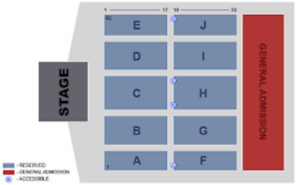 STREETHEART in ROW 2 Front & Center
