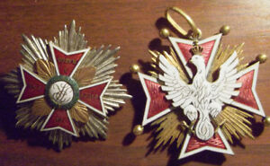 Cross and star of White Eagle!