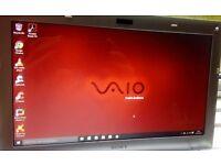 "smaller 11.6"" light and fast laptop/ultrabook Sony Vaio, Windows 10 Microsoft Office Antivirus"