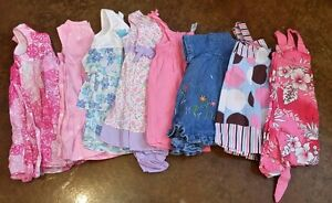 Eight Size 12 Month Girls Dresses